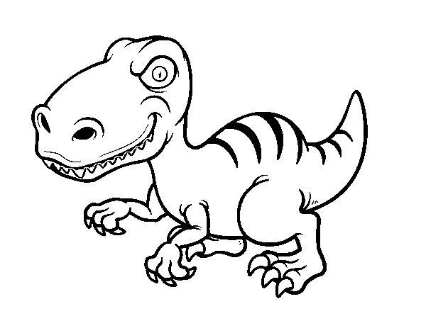 Dinosaurios Para Colorear Infantiles Dibujos Para Colorear Coloreartv Com Puedes elegir colores más claros o más oscuros pulsando los iconos del sol y la media luna. dinosaurios para colorear infantiles