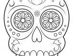 Dibujos De Calaveras Para Colorear